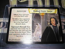 HARRY POTTER TRADING CARD GAME TCG BASIC HIDING FROM SNAPE 54/116 U ENGLISH MINT