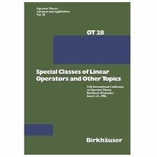11th Internat. Conference on Operator Theory Bd. 28: SPECIAL CLASSES OF LINear o