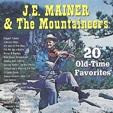 """J.E. MAINER, CD """"THE FIDDLE MUSIC OF J.E. MAINER VOL., 20"""" NEW SEALED"""
