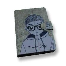 Boy Pattern Motif PU Flip Travel Carry Case Book Cover for Google Nexus 7 UK
