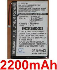 Batterie 2200mAh type P325385A4H Pour Apple iPod 2nd generation (32GB)