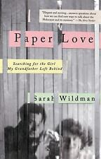 Paper Love: Searching for the Girl My Grandfather Left Behind - LikeNew - Wildma