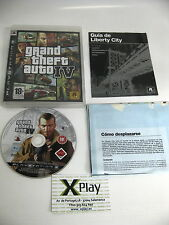 PS3 Grand Theft Auto IV GTA 4 Buen estado Completo Pal España