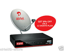 Airtel DTH Value Sports Prime SD+ Connection - Free 12 Month Subscription