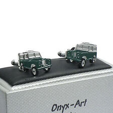 Super Landrover Land Rover 4x4 Cufflinks Cuff Links by Onyx Art New