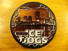 ECHL Long Beach Ice Dogs City Scape Team Logo Hockey Puck Check My Other Pucks
