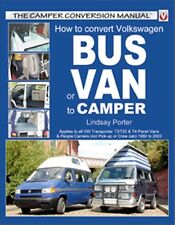 How to Convert Volkswagen T3 T25 & T4 Bus or Van to Camper book paper