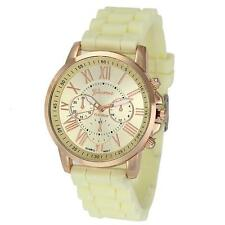 11 Colors Women's Watch Jelly Silicone Strap Analog Quartz Wrist Watches