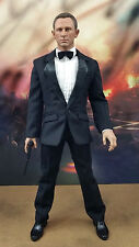 1/6 James Bond Clothing Daniel Craig Head Sculpt Sean Connery Roger Moore Gun 99