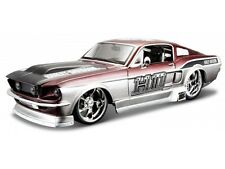 FORD MUSTANG GT 1967 1/24 Die Cast Model Car HARLEY DAVIDSON Metal Models HD
