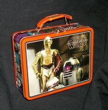 STAR WARS Lunch Box 3-D Robots NEW -REAL NICE Collectible