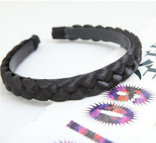 New Sweet Fashion Braided Hair Braids Hair Bands Headband Hair Jewelry