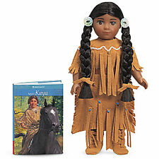"American Girl KAYA MINI DOLL 6"" & Book NEW in Box Horse Teepee Saddle NezPerce"