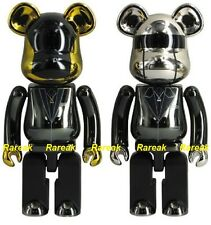 Medicom Be@rbrick 2015 Daft Punk 200% Chogokin Alloyed RAM Bearbrick set 2pcs
