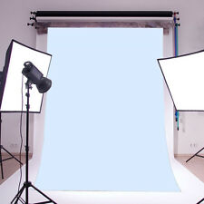 BABY BLUE Vinyl Photography Backdrop Background studio Photo props 5X7FT