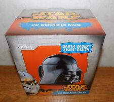 Disney Star Wars Darth Vader Helmet Design 3D Ceramic Mug - BRAND NEW!