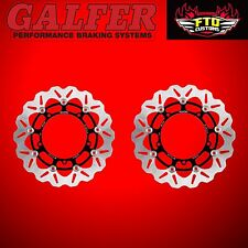 Galfer Front Wave Rotors for 2008-2013 Harley Davidson Electra Glide DF835CW