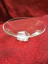FLAWLESS Exceptional BACCARAT Glass Crystal ALADIN Salt Dip Butter Pat BOWL DISH