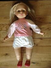 """Large ZAPF Creation Sally  Doll Wearing Original Sally Removable Clothes App 24"""""""