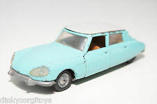 POLITOYS EXPORT 545 CITROEN DS 21 MINT GREEN EXCELLENT CONDITION RARE SELTEN