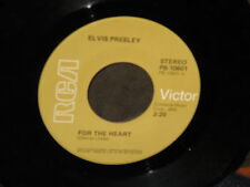 "Elvis Presley ""For the Heart/Hut"" 45"