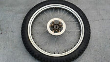 GAS GAS TX JTX JT  TXT EDITION FRONT TRIALS WHEEL WITH TYRE AND DISC