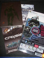 Crysis 1 SPECIAL EDITION STEELBOOK + ARTBOOK + COLONNA SONORA CD e più (PC) TOP