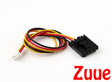 FPV Camera to TX 200mm 5 Pin Molex/JR to 3 Pin White Connector Lead 64632