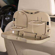 NEW Folding Auto Car Back Seat Table Drink Food Cup Tray Holder Stand Desk