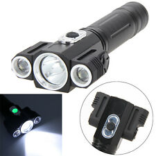4Modes Genuine 9000 Lm XM-L T6 3LED Headlamp Headlight Flashlight Rechargeable