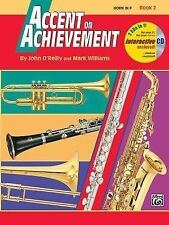 Accent on Achievement, Book 2 French Horn Textbook, Free 2 in 1 Interactive CD