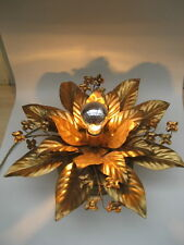 Maison Jansen  Hollywood Regency style mid century floral metal antique  lamp