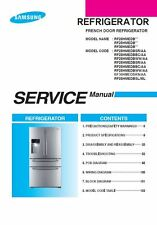 Samsung RF28HMEDBSL RF30HMEDBRS Service Manual Repair Guide
