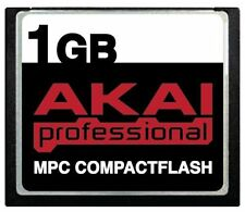 1GB AKAI CF Memory Card +Samples MPC500 MPC1000 MPC2500 MPC4000 MPC2000XL MPC200