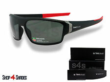 TAG Heuer Racer 2 Sunglasses MATTE BLACK_RED_POLARISED GREY 9222 901