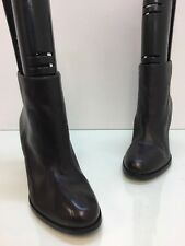 Via Spiga Womens Nene Brown Leather Ankle Boots Heels Size 9M