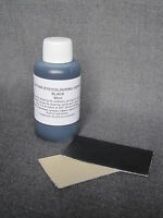 DIY leather colorant repair restore recolour BLACK dye for all leather 50ml