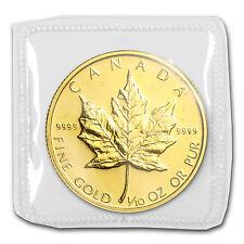 1985 Canada 1/10 oz Gold Maple Leaf BU - SKU #82856