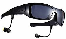 Spy Sunglasses with Camera Video Recorder for IOS Android bluetooth headset