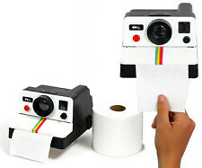 Polaroll Retro Polaroid Camera Shaped Toilet Roll Box Tissue Paper Holder