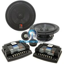 "H600A DIAMOND AUDIO PRO 6.5"" HEX COMPONENT SPEAKERS TWEETERS MIDS CROSSOVERS NEW"