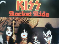 "KISS 45 RPM 7"" - Rocket Ride UNPLAYED W/COLLECTOR'S SLEEVE"
