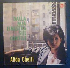45 GIRI 7' - A. CHELLI - DALLA MIA FINESTRA - ONLY COVER - SOLO COPERTINA