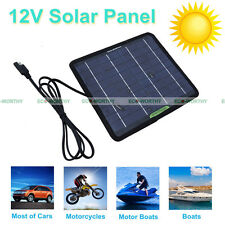 18V 5W Portable Solar Panel 5Watt PV Power Charging 12V Car Camping Home Outdoor