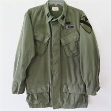 VINTAGE 1968 US ARMY VIETNAM JUNGLE JACKET COMBAT SMALL LG PATCHE 1st CAVALRY