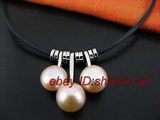43cm, Violet perle de culture, pendentif