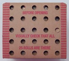SEALED $12.50 Lincoln Wheat 25 Roll Box 1909-1958 P D S Cent Penny Pennies 0091