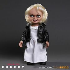 "BRIDE OF CHUCKY 15"" TIFFANY TALKING Mega scale figure with sound MEZCO"