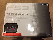 Hori Fighting Stick 3 (HP3-01) PS3 / pc Joystick / Arcade Stick BOXED Complete