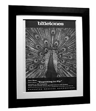BLUETONES+Expecting To Fly+POSTER+AD+RARE ORIGINAL 1996+FRAMED+FAST GLOBAL SHIP